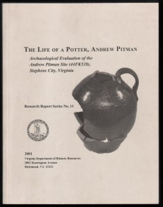 Life of a Potter, Andrew Pitman