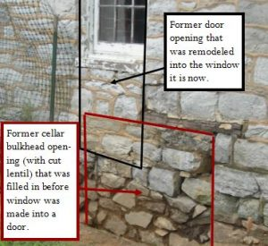 Stone House Window Changes